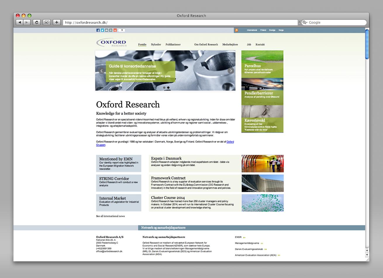 oxfordresearch, hjemmesidedesign, design af hjemmeside, grafisk design, freelance, aarhus, maria refsgaard krims