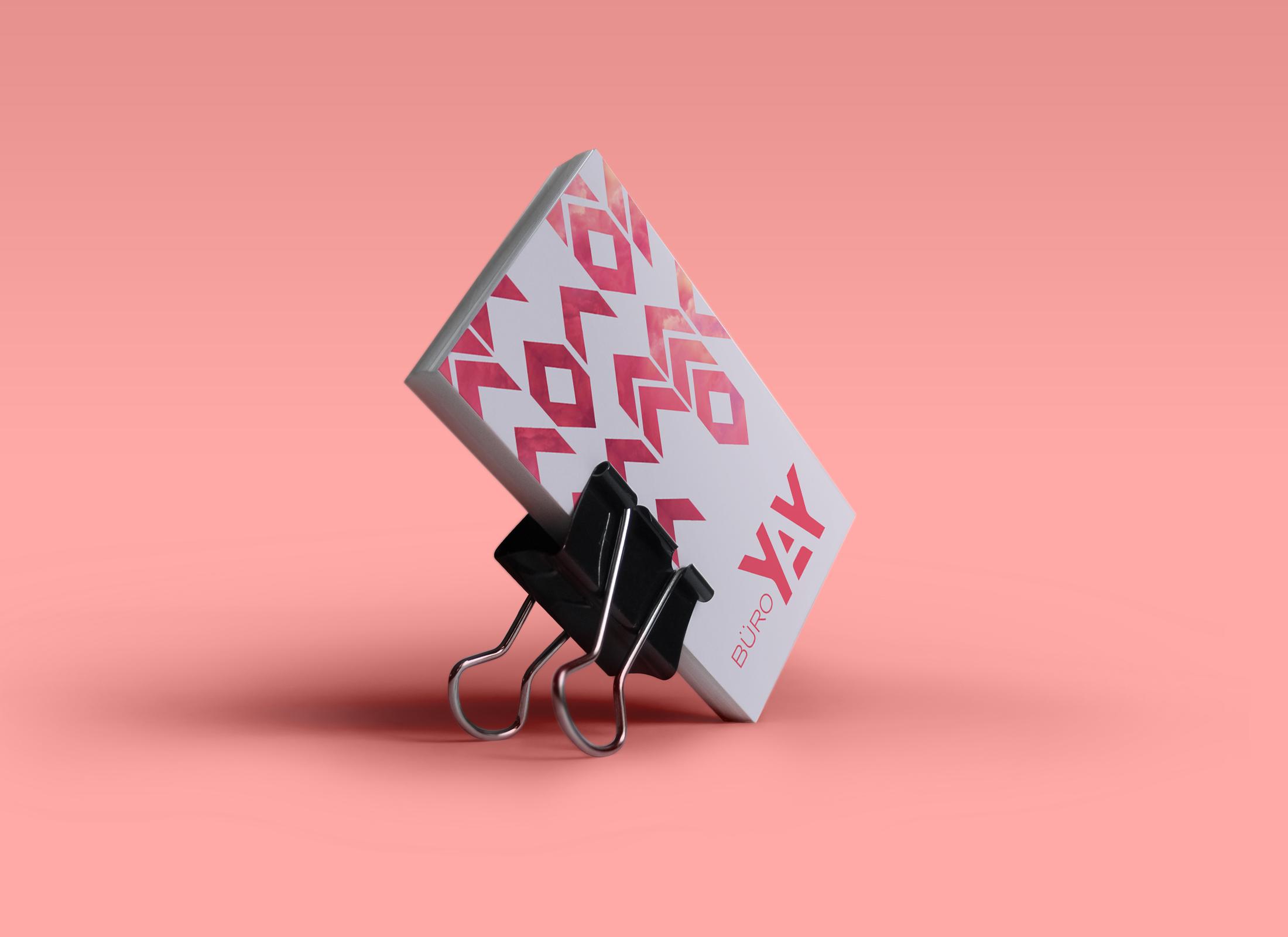 buroyay, visitkort, grafisk design, krims, maria refsgaard, freelance, grafiker, aarhus