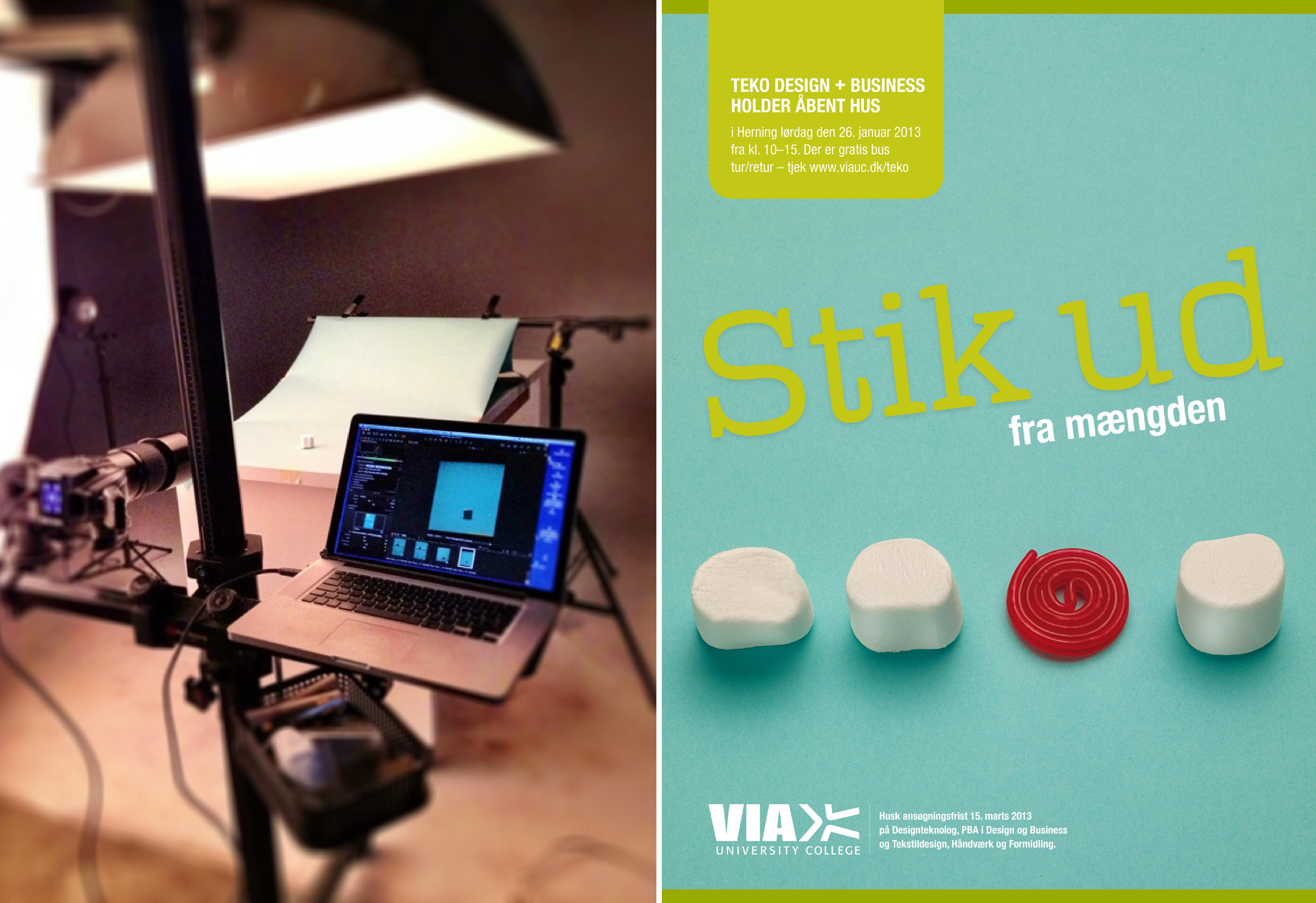 teko, via design, grafisk design, annonce, krims, maria refsgaard, freelance, aarhus