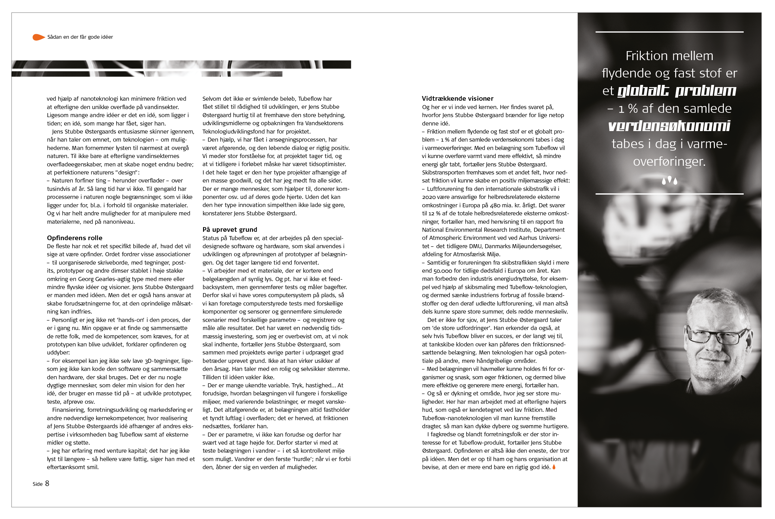 vtu-fonden, magasin, grafisk design, krims, maria refsgaard, aarhus, freelance