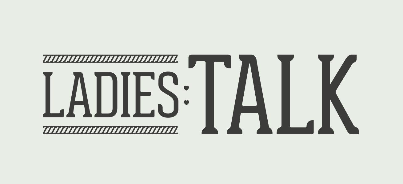 Ladies first, ladies talk, logo, logodesign, krims, grafisk design, maria refsgaard, freelance, aarhus, kvindenetværk, netværk