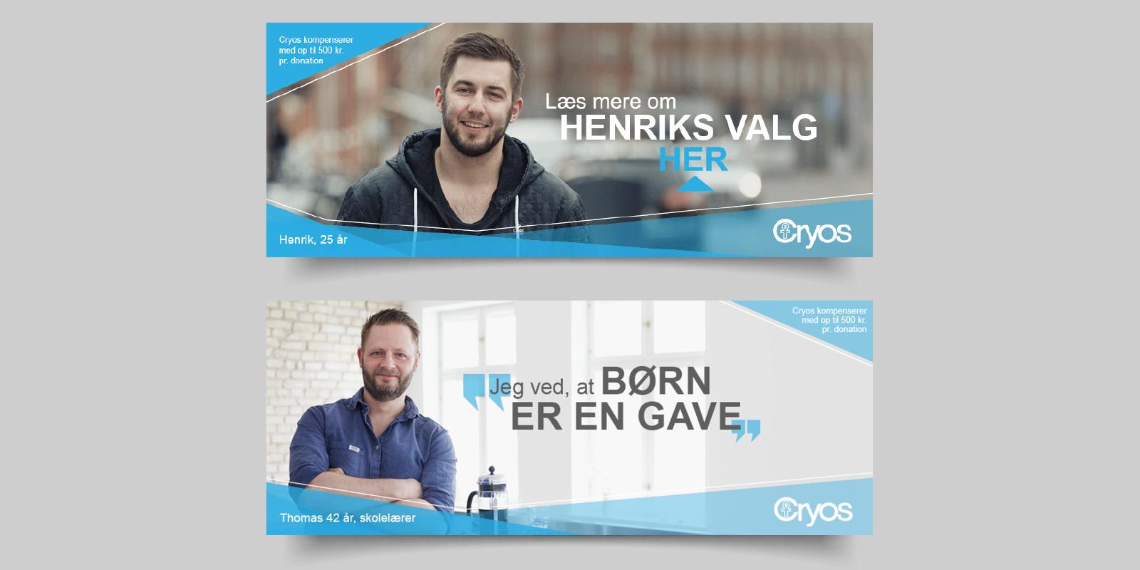 cryos international danmark, maria refsgaard, krims, grafisk design, freelance, selvstændig, aarhus